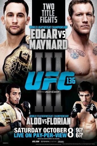 Poster of UFC 136: Edgar vs. Maynard III