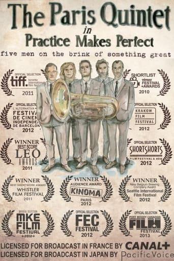 Poster of The Paris Quintet
