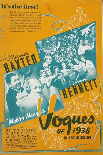 Poster of Vogues of 1938