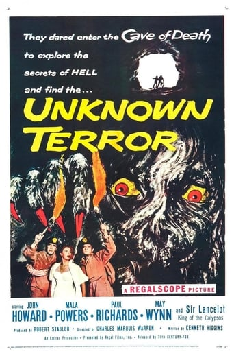 Poster of The Unknown Terror