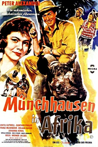 Poster of Münchhausen in Afrika
