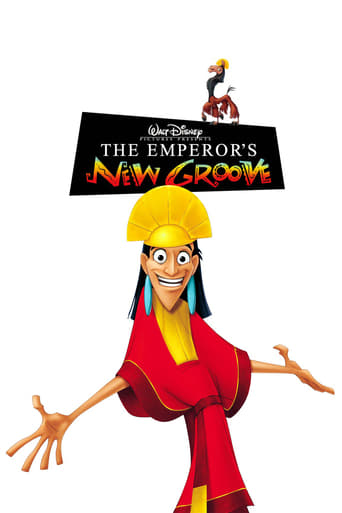 Official movie poster for The Emperor's New Groove (2000)