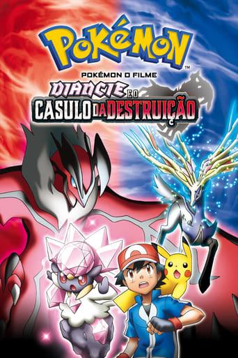 Pokémon o Filme: Diancie e o Casulo da Destruição - Poster