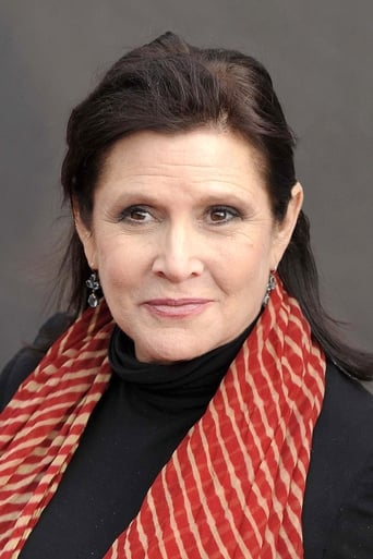 Carrie Fisher alias Princess Leia Organa