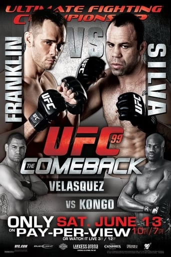 Poster of UFC 99: The Comeback