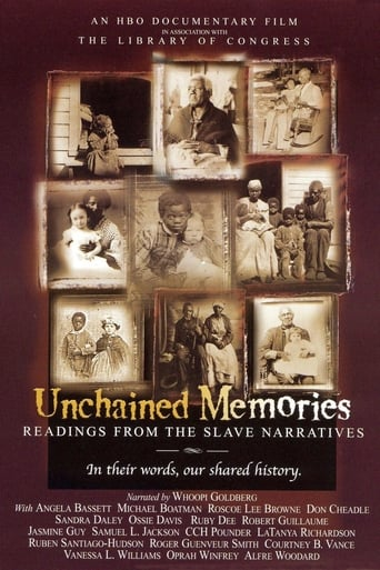 Poster of Unchained Memories: Readings from the Slave Narratives