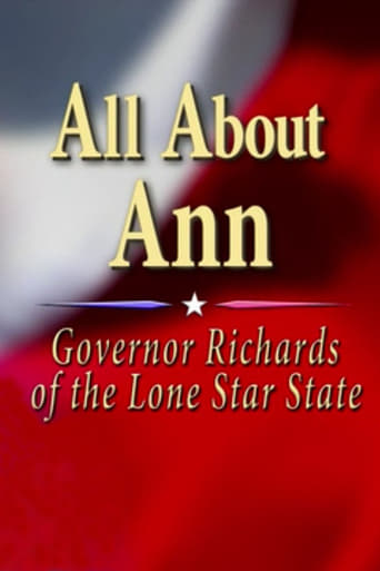 Poster of All About Ann: Governor Richards of the Lone Star State