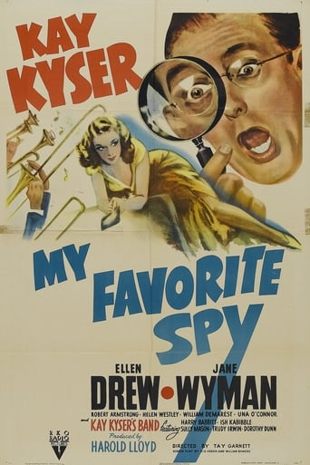 Watch My Favorite Spy Online Free Movie Now