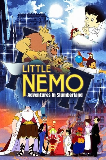 Poster of Little Nemo: Adventures in Slumberland
