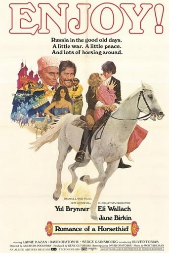 Poster of Romance of a Horsethief