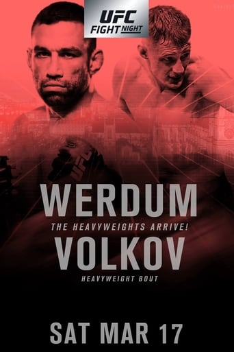 Poster of UFC Fight Night 127: Werdum vs. Volkov