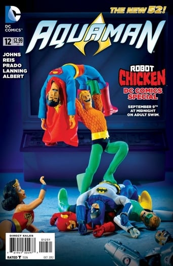 Poster of Robot Chicken DC Comics Special III: Magical Friendship