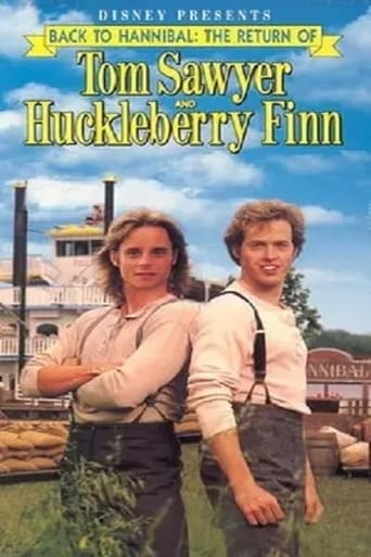 Poster of Back to Hannibal: The Return of Tom Sawyer and Huckleberry Finn