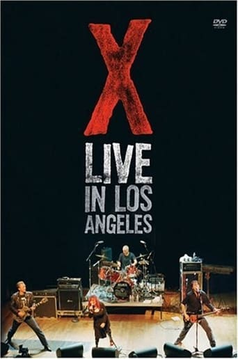 Poster of X: Live in Los Angeles
