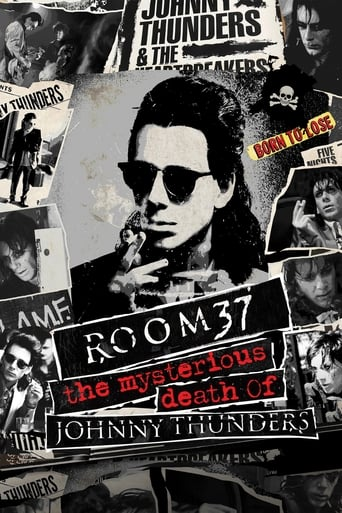 Poster of Room 37 - The Mysterious Death of Johnny Thunders