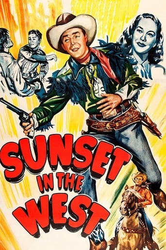 Poster of Sunset in the West
