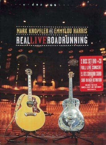 Poster of Mark Knopfler and Emmylou Harris: Real Live Roadrunning