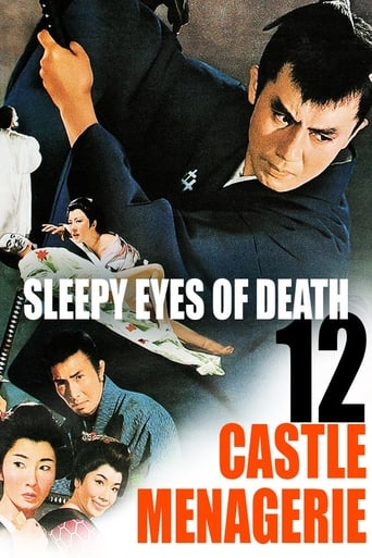 Poster of Sleepy Eyes of Death 12: Castle Menagerie