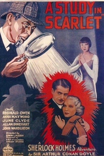Poster of A Study in Scarlet