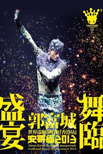 Aaron Kwok de Showy Masquerade World Tour Live in Concert Movie Poster