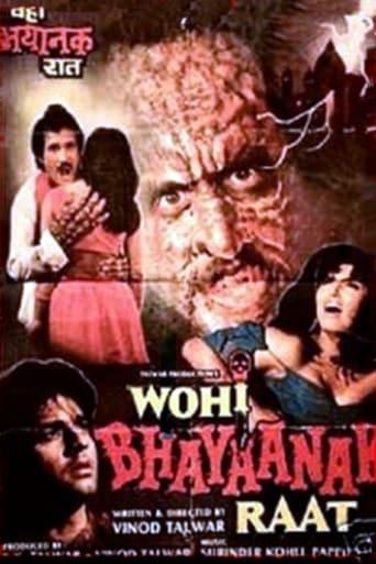 Poster of Wohi Bhayanak Raat