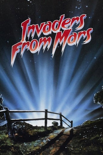 Invaders from Mars (1986) - poster