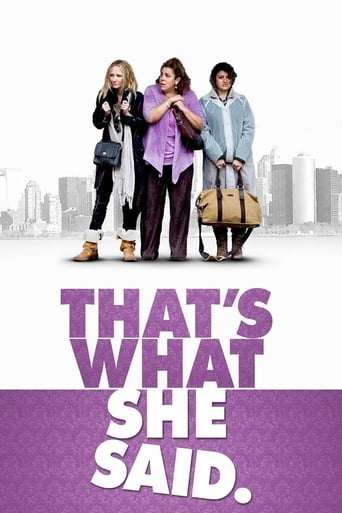 Poster of That's What She Said