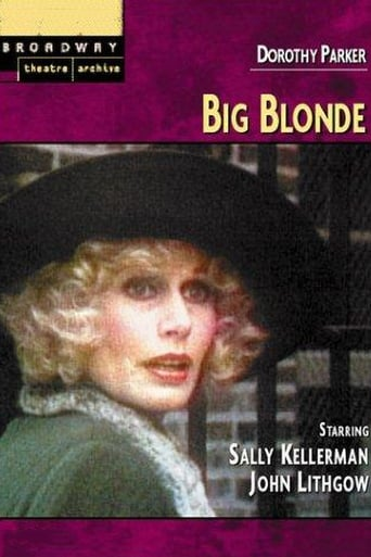 Poster of Big Blonde