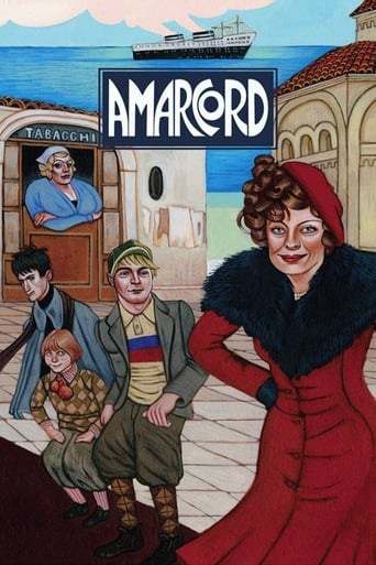 Poster of Amarcord