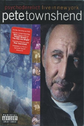 Poster of Pete Townshend Live in New York Featuring Psychoderelict