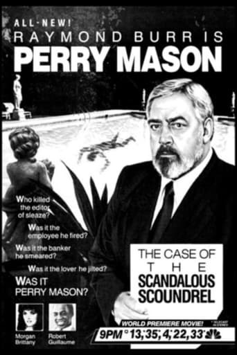 Poster of Perry Mason: The Case of the Scandalous Scoundrel