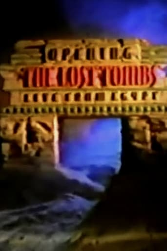 Poster of Opening the Lost Tombs: Live from Egypt