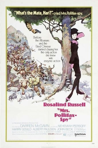 Poster of Mrs. Pollifax — Spy