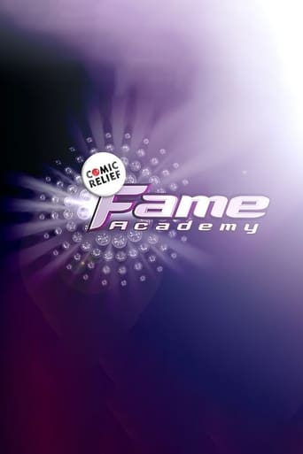 Poster of Comic Relief Does Fame Academy