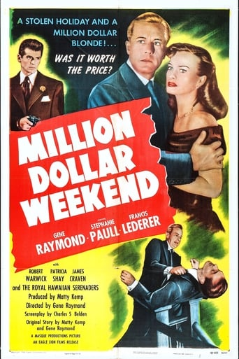 Poster of Million Dollar Weekend
