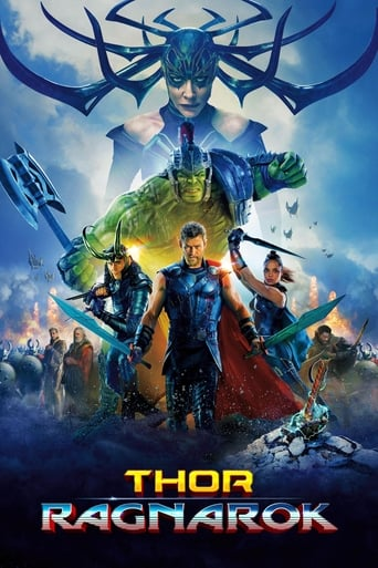 Official movie poster for Thor: Ragnarok (2017)