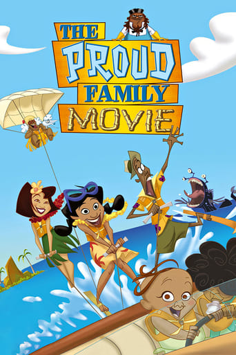 Poster of The Proud Family Movie