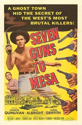 Poster of Seven Guns to Mesa