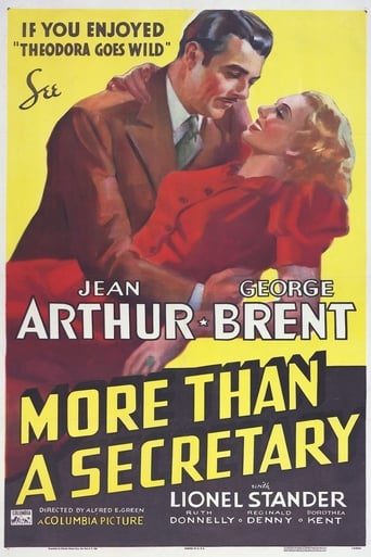 Poster of More Than a Secretary