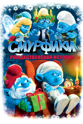 Poster of The Smurfs: A Christmas Carol