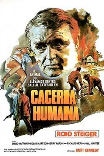 Poster of Cacería humana