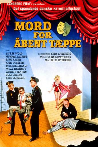 Poster of Mord for åbent tæppe