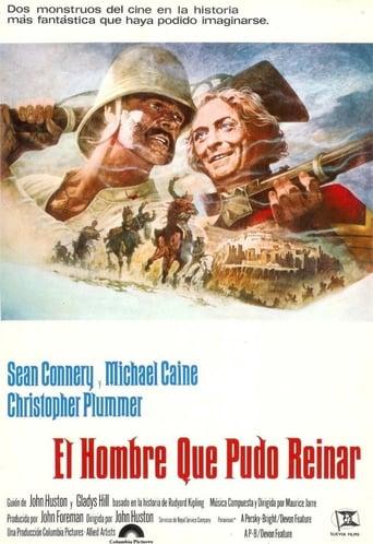 Poster of El hombre que pudo reinar