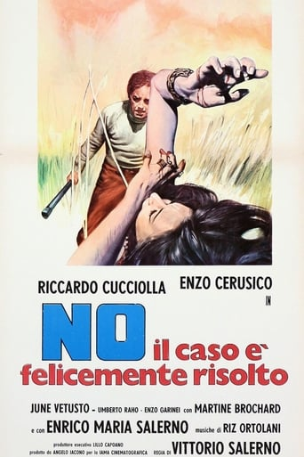 No, The Case Is Happily Resolved Movie Poster