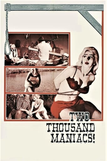 Poster Two Thousand Maniacs!