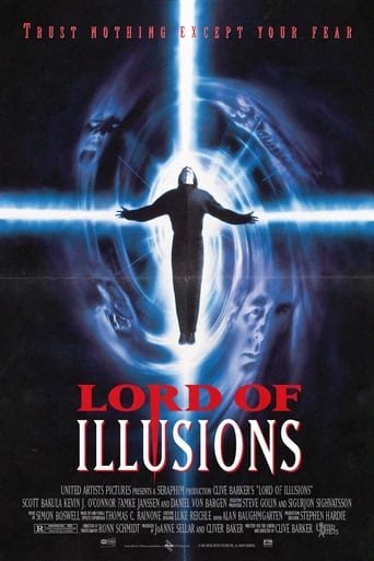 Lord of Illusions (1995) - poster