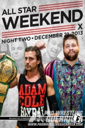 Poster of PWG: All Star Weekend X - Night Two