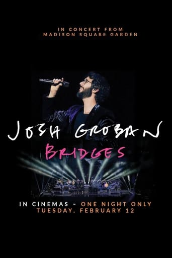 Poster of Josh Groban Bridges: In Concert from Madison Square Garden