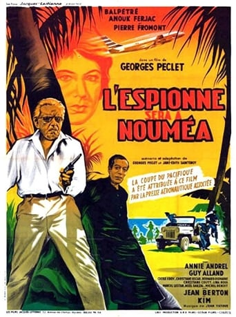 L'espionne sera à Nouméa Movie Poster