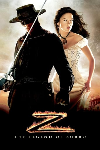 Official movie poster for The Legend of Zorro (2005)